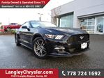 2016 Ford Mustang EcoBoost LOW KMS, LOCALLY DRIVEN, ONE OWNER & ACCIDENT FREE in Surrey, British Columbia