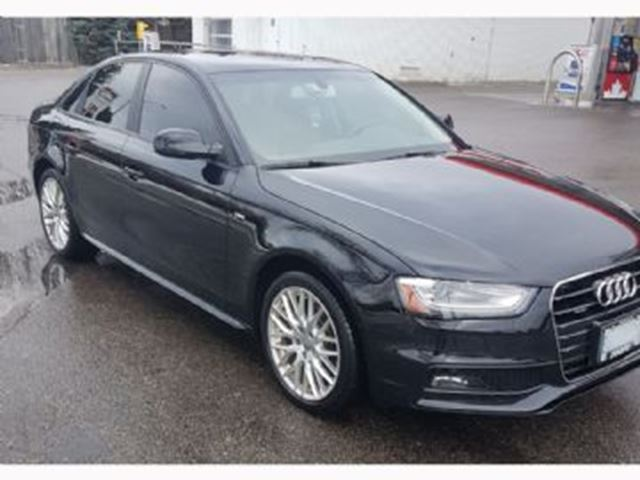 2015 audi a4 komfort package plus quattro mississauga ontario used car for sale 2646193. Black Bedroom Furniture Sets. Home Design Ideas