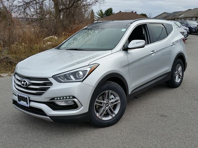 2017 hyundai santa fe se awd only 93 weekly orillia ontario new car for sale 2645836. Black Bedroom Furniture Sets. Home Design Ideas