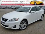 2013 Lexus IS 250 AWD w/all leather,sunroof,climate,heated seats in Cambridge, Ontario