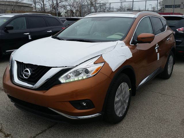 2017 nissan murano sl toronto ontario car for sale 2645734. Black Bedroom Furniture Sets. Home Design Ideas