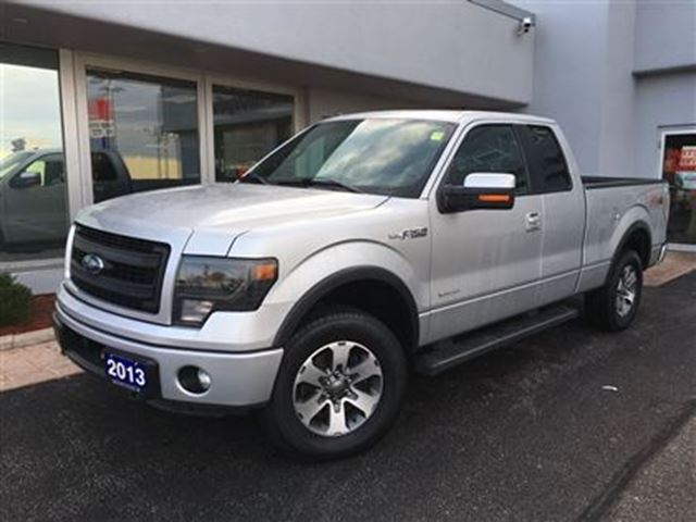 2013 ford f 150 fx4 one owner simcoe ontario used car for sale 2647454. Black Bedroom Furniture Sets. Home Design Ideas