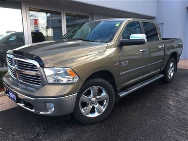 2015 dodge ram 1500 big horn one owner simcoe ontario used car for sale 2647456. Black Bedroom Furniture Sets. Home Design Ideas