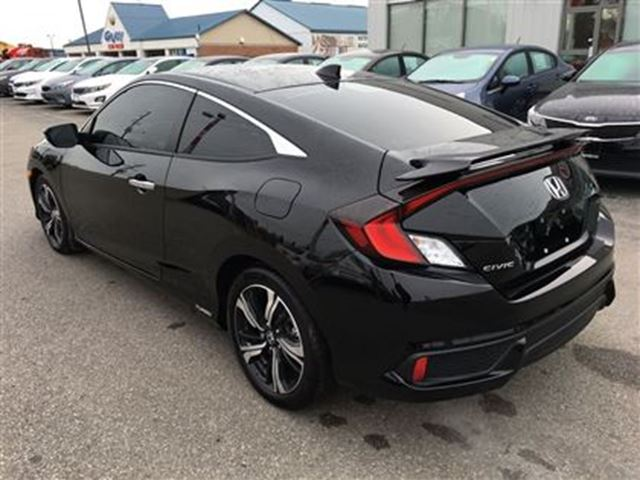 2016 honda civic touring nav leather sunroof brantford for Honda civic sunroof