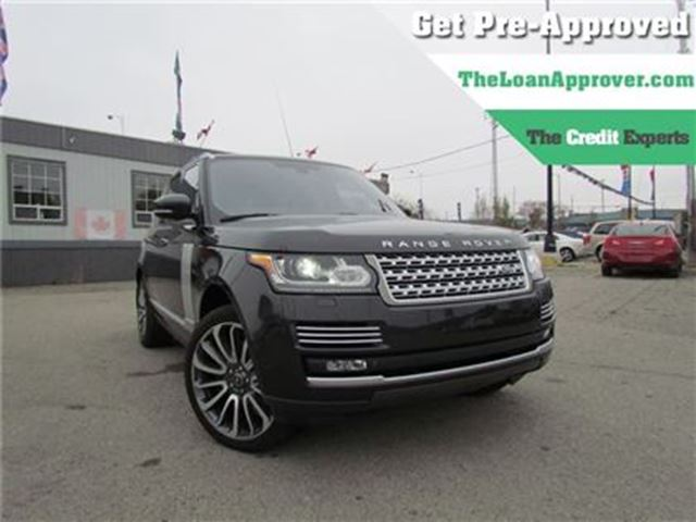 2013 LAND ROVER RANGE ROVER SUPERCHARGED PLUS AU in London, Ontario