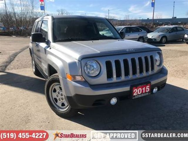 2015 JEEP PATRIOT Sport/North   4X4   ONE OWNER in London, Ontario