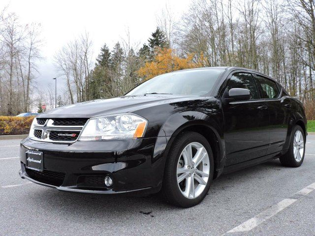 2013 dodge avenger sxt surrey british columbia used car. Black Bedroom Furniture Sets. Home Design Ideas