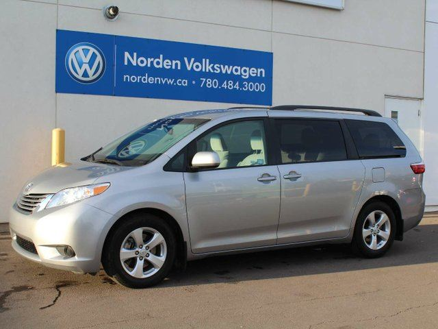 2016 toyota sienna le 8 passenger grey norden volkswagen. Black Bedroom Furniture Sets. Home Design Ideas