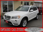 2013 BMW X3 2.8XDRIVE NAVIGATION LEATHER PANO.ROOF in Toronto, Ontario