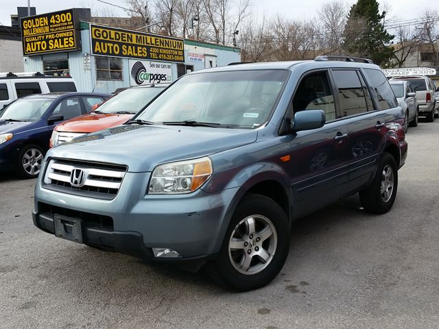 2006 honda pilot ex l 8 seats blue golden millennium. Black Bedroom Furniture Sets. Home Design Ideas