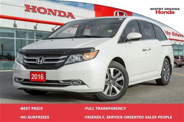 2016 honda odyssey touring whitby ontario used car for. Black Bedroom Furniture Sets. Home Design Ideas
