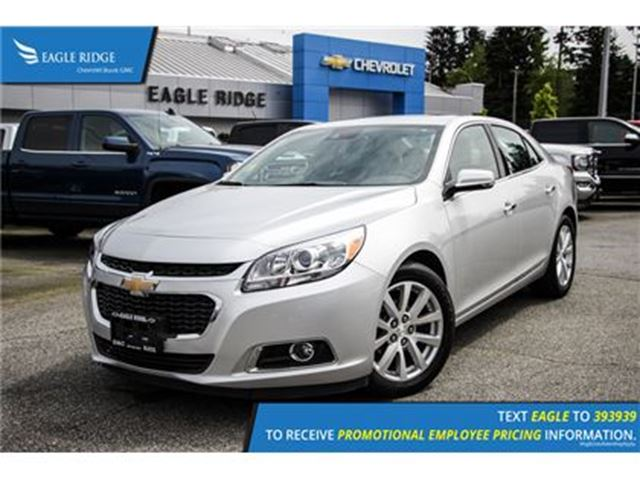 2016 chevrolet malibu ltz coquitlam british columbia used car for sale 2647748. Black Bedroom Furniture Sets. Home Design Ideas