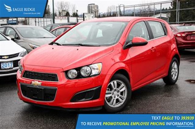 2016 chevrolet sonic lt auto coquitlam british columbia. Black Bedroom Furniture Sets. Home Design Ideas