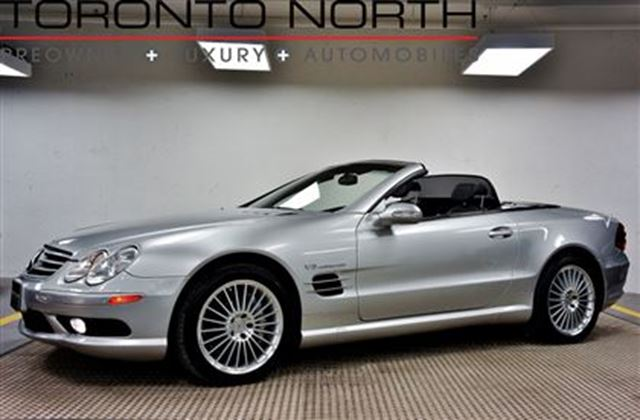 2003 mercedes benz sl class sl55 amg no accident toronto for 2003 mercedes benz sl55