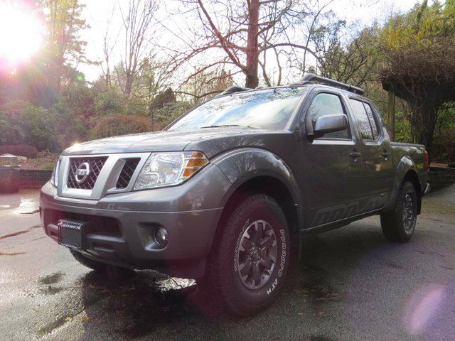 2016 nissan frontier pro 4x 4x4 crew cab ft box 126. Black Bedroom Furniture Sets. Home Design Ideas