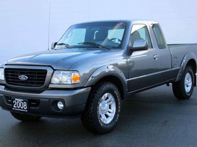 2008 ford ranger sport super cab styleside 6 ft box. Black Bedroom Furniture Sets. Home Design Ideas