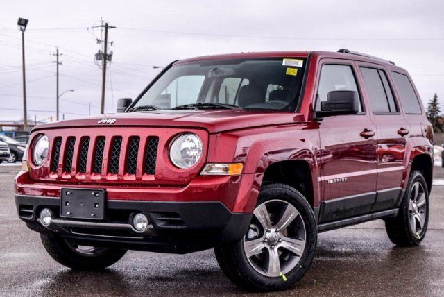 2017 jeep patriot new car high altitude 4x4 sunroof bluetooth r start leather 17alloy rims. Black Bedroom Furniture Sets. Home Design Ideas