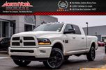 2017 Dodge RAM 2500 New Car Laramie 4x4 Mega Cab Diesel Leather Sunroof RamBox in Thornhill, Ontario