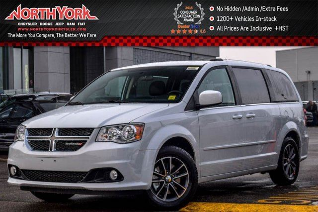 2017 Dodge Grand Caravan NEW Car SXT Premium Plus DualClimate Cruise 3rdRowStowN'Go 17Alloys  in Thornhill, Ontario