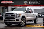 2015 Ford F-350  Platinum 4x4 Sunroof Htd/VntdFrontSeats Nav RearCam 20Alloys  in Thornhill, Ontario