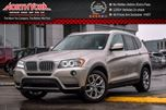 2014 BMW X3 xDrive28i PanoSunroof Nav 270RearCam ParkSensors HtdFrontSeats 18Alloys  in Thornhill, Ontario