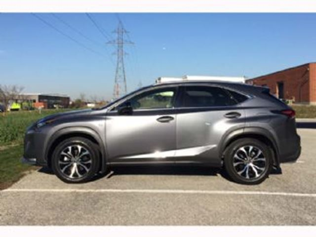 2015 lexus nx 200t awd 4dr f sports package 1 mississauga ontario used car for sale 2648736. Black Bedroom Furniture Sets. Home Design Ideas
