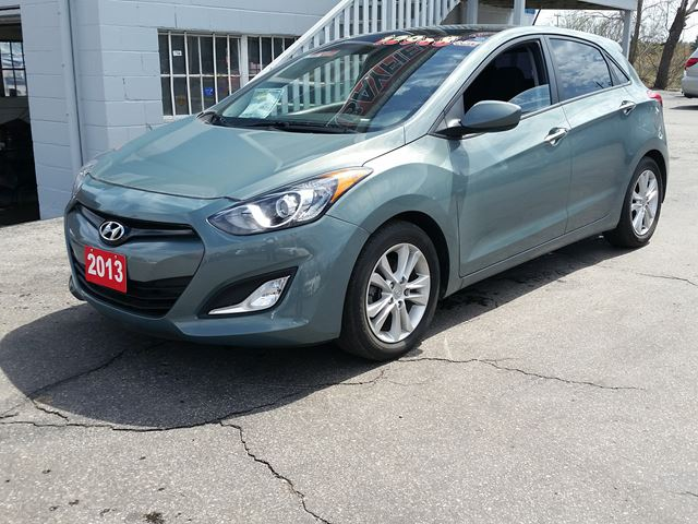 2013 HYUNDAI ELANTRA GLS GT **Panoramic Sunroof/6 Speed//Bluetooth** in Barrie, Ontario