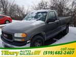 2000 GMC Sierra 2500  SL. **AS IS** V8. TWO DOOR. in Tilbury, Ontario