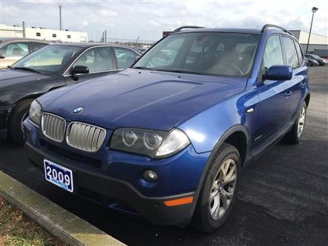 2009 bmw x3 30i burlington ontario used car for sale. Black Bedroom Furniture Sets. Home Design Ideas