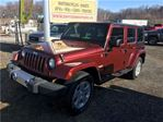 2008 Jeep Wrangler Unlimited Sahara 4x4 Hard Top in Orono, Ontario