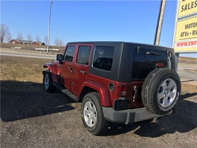 2008 jeep wrangler unlimited sahara 4x4 hard top orono ontario used car fo. Cars Review. Best American Auto & Cars Review