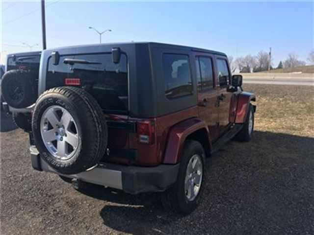 2008 jeep wrangler unlimited sahara 4x4 hard top orono ontario car for sale 2648880. Black Bedroom Furniture Sets. Home Design Ideas