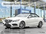 2014 Mercedes-Benz E-Class E350 Cabriolet Rates From 0.9% in London, Ontario