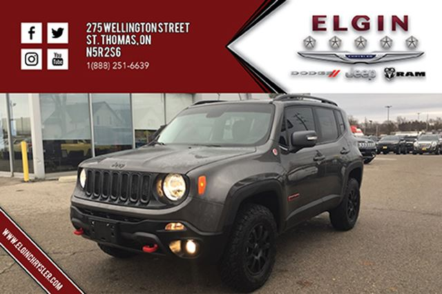 2016 jeep renegade trailhawk leather b up cam 4x4. Black Bedroom Furniture Sets. Home Design Ideas