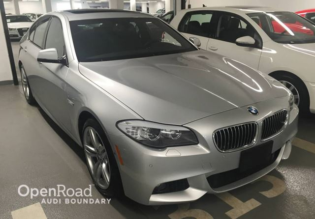 2013 bmw 5 series 4dr sdn 535i xdrive awd vancouver british columbia used car for sale 2648992. Black Bedroom Furniture Sets. Home Design Ideas