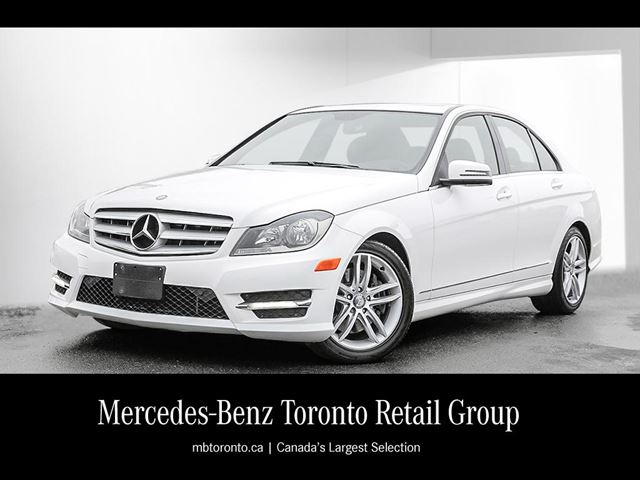 2013 mercedes benz c300 4matic sedan polar white for Mercedes benz 2013 c300 price