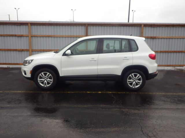 2015 Volkswagen Tiguan Tsi Turbo White Haldimand Motors