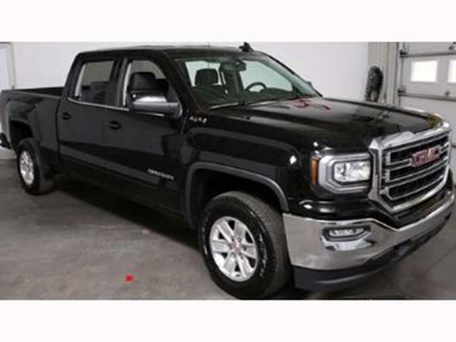 2017 gmc sierra 1500 crewcab sle 4x4 6 6 bed mississauga ontario used car for sale 2649507. Black Bedroom Furniture Sets. Home Design Ideas