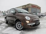 2012 Fiat 500 LOUNGE, ROOF, LEATHER, JUST 35K!!! in Stittsville, Ontario