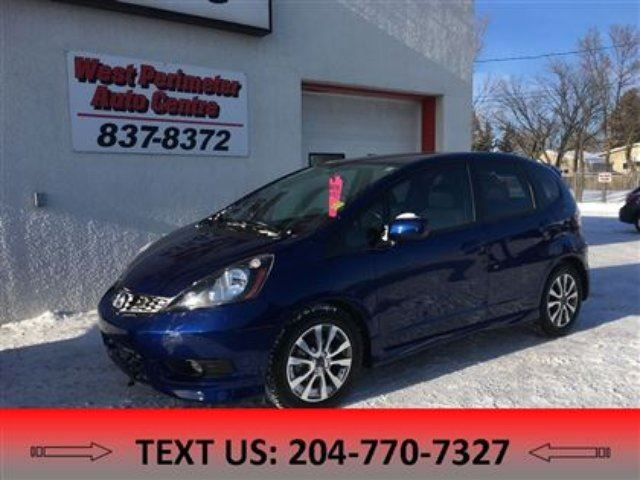 2014 Honda Fit Sport in Winnipeg, Manitoba