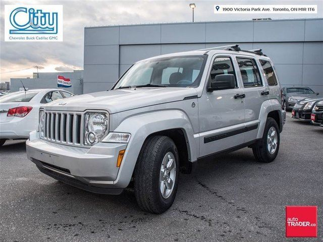 2012 jeep liberty sport toronto ontario used car for sale 2650131. Black Bedroom Furniture Sets. Home Design Ideas