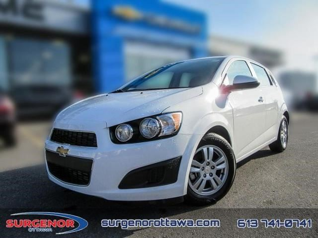 2016 chevrolet sonic lt ottawa ontario used car for. Black Bedroom Furniture Sets. Home Design Ideas