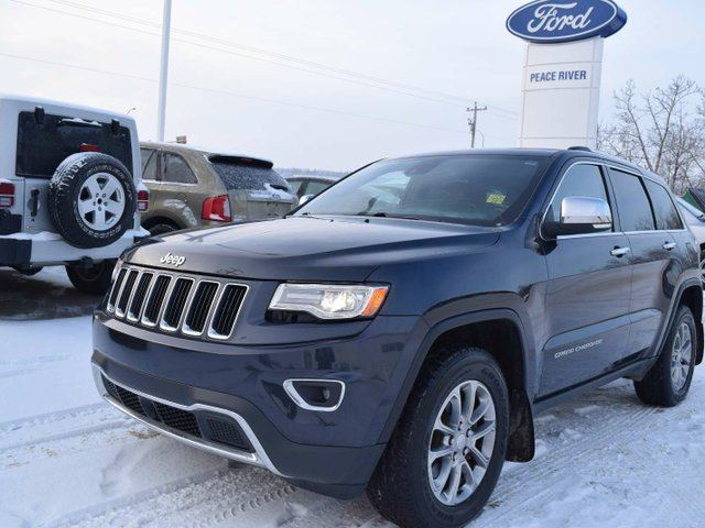 2014 jeep grand cherokee limited peace river alberta used car for sale 2650676. Black Bedroom Furniture Sets. Home Design Ideas