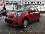 2015 Nissan Micra SV, ONE OWNER, NO ACCIDENT !!! in Scarborough, Ontario