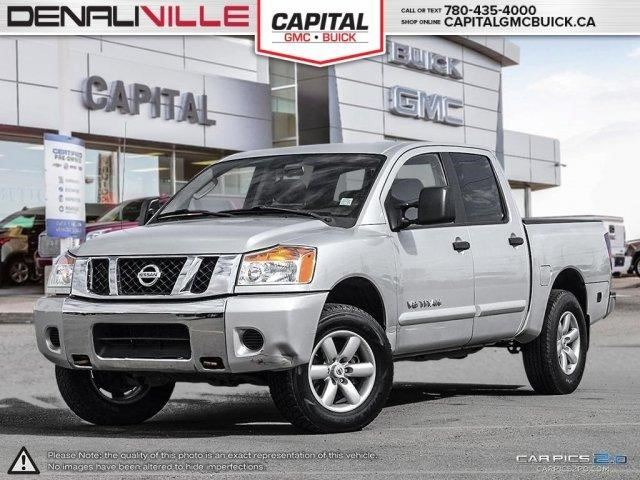 2011 nissan titan pro 4x edmonton alberta used car for sale 2650763. Black Bedroom Furniture Sets. Home Design Ideas