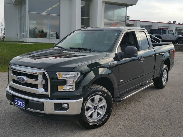 2015 ford f 150 xlt supercab 4x4 ecoboost orillia ontario used car for sale 2650340. Black Bedroom Furniture Sets. Home Design Ideas