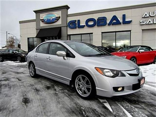 2009 Acura CSX ***new price***Technology Package NAVIGATION, LEAT Silver | GLOBAL AUTO SALES ...