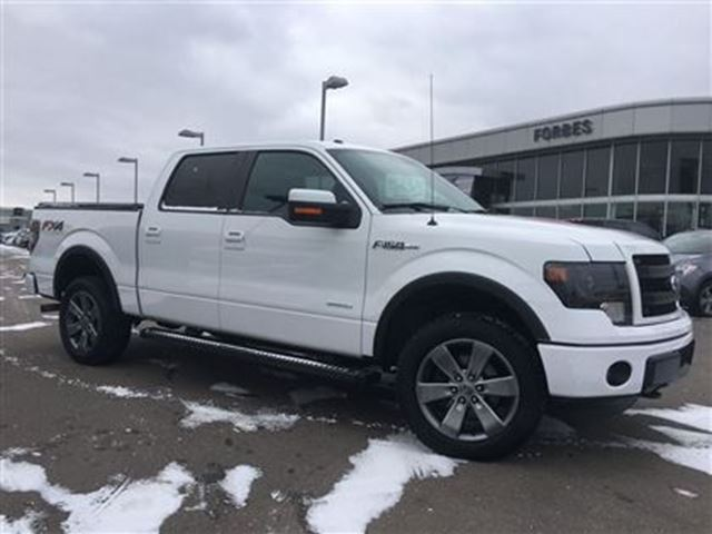2014 ford f 150 fx4 ecoboost supercrew navi sunroof white forbes motors inc. Black Bedroom Furniture Sets. Home Design Ideas