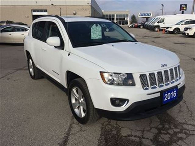 2016 jeep compass high altitude 4wd sunroof remote starter 1 toronto ontario used car for. Black Bedroom Furniture Sets. Home Design Ideas