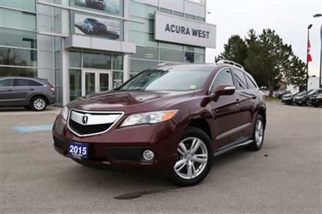 2015 acura rdx w technology package red acura west. Black Bedroom Furniture Sets. Home Design Ideas